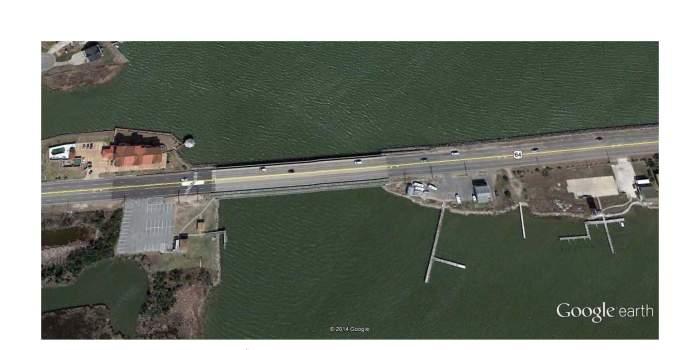Daniels Bridge - Google Earth