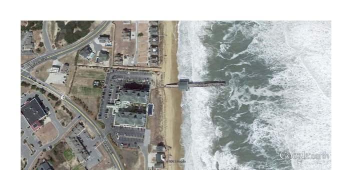 Kitty Hawk Pier - Google Earth View