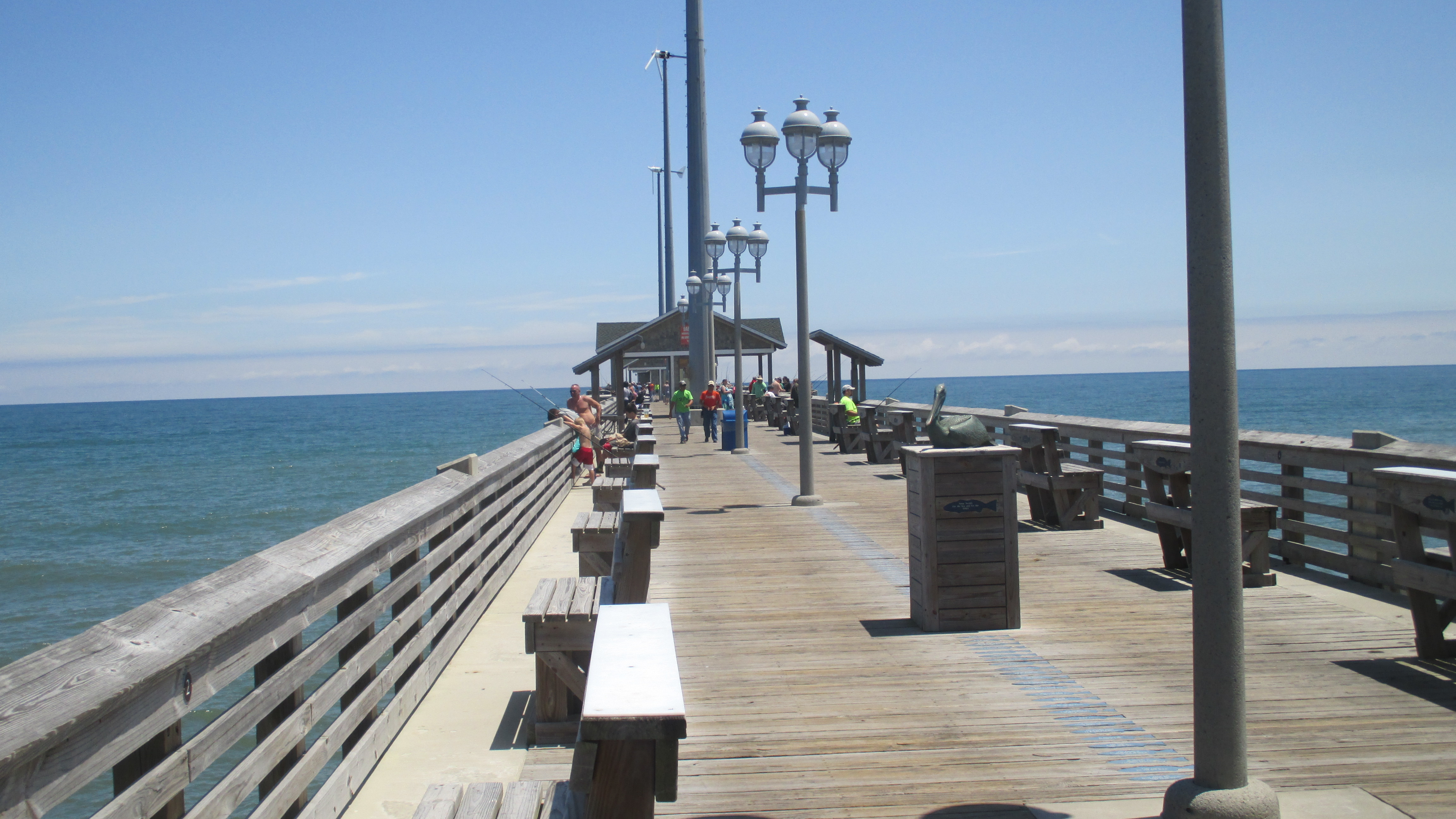 Capt tony 39 s helping to make that for Jennette s fishing pier