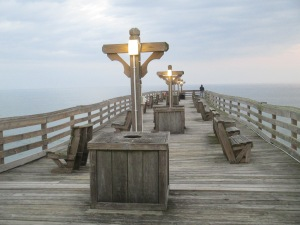 Sunrise - Kitty Hawk pier