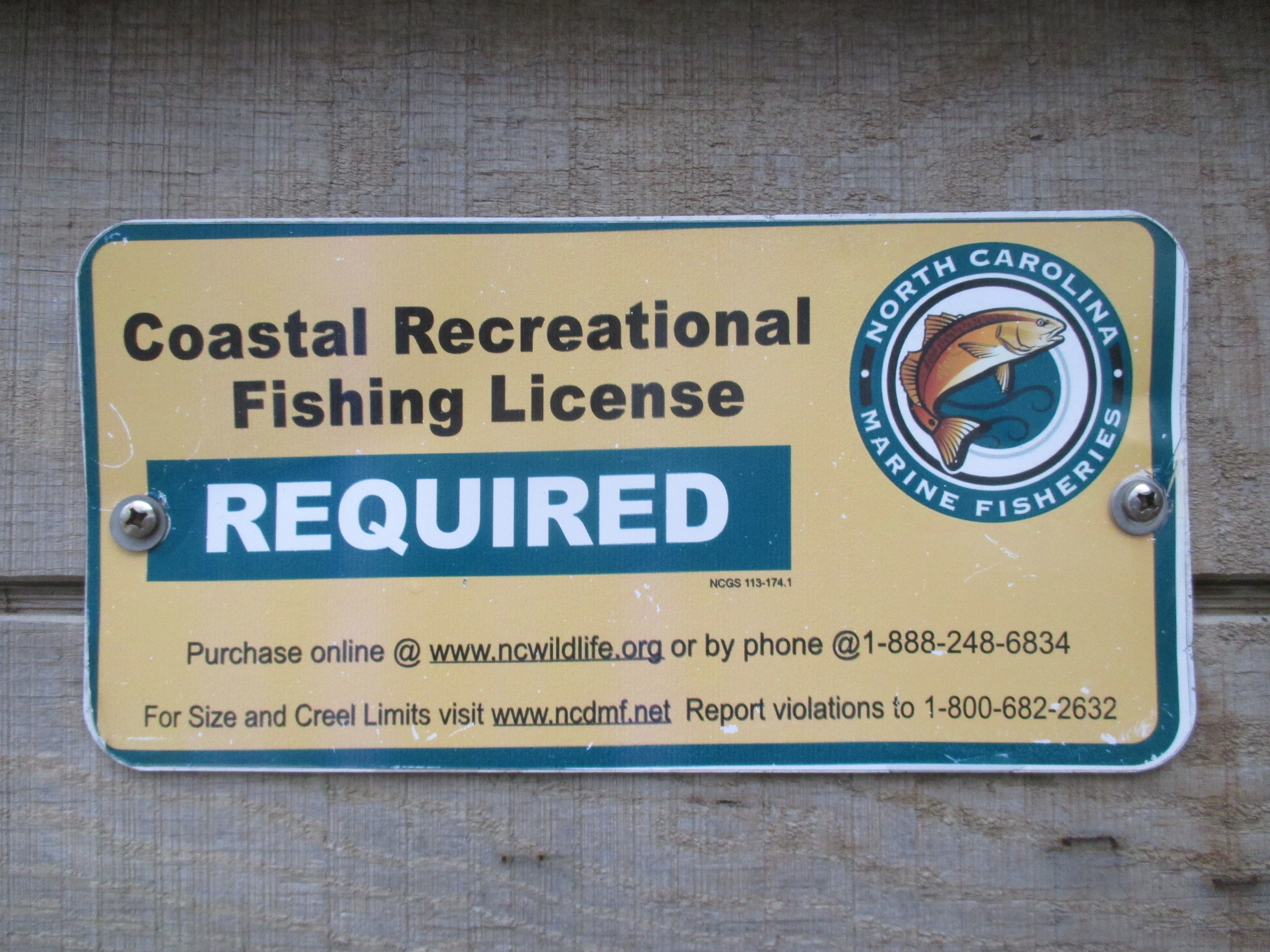 Freshwater fishing license - Img_9022 Jpg